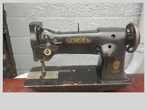 Industrial Sewing Machine Singer 111w151 one Needle needle Feed leather