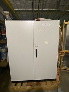 Hoffman Stainless Steel Electrical Enclosure Control Cabinet 80x63x24