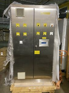 Hoffman Stainless Electrical Enclosure Control Cabinet A904820ssfsd 90x48x20 Rev
