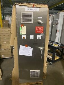 Hoffman Stainless Electrical Enclosure Control Cabinet A722424ssfsn4 72x24x24