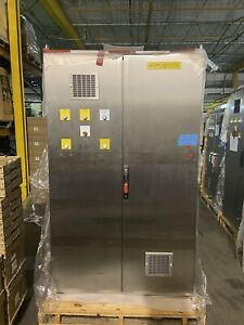 Hoffman Stainless Steel Electrical Enclosure Control Cabinet 84x48x24