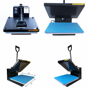 15 x15 Digital Clamshell Transfer Sublimation Heat Press Machine For Home Use