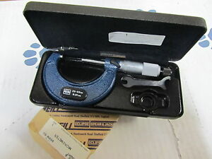 M w Moore Wright 25mm 50mm Metric 0 01mm Outside Micrometer 966m 50 England