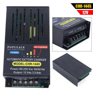 New Diesel Generator Battery Charger Intelligent Floating Charge 3 5a 110 220v