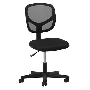 Ofm Ess Collection Mesh Back Office Chair Armless In Black ess 3000 No Arms