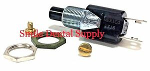 X ray Exposure Switch Button 3 4 Amp 125 Volt Universal Screw Terminals Dci 7109