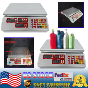 2pc Automatic Weight Weighing Quantitative Dispensing Scale Type Filler 30kg New