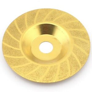 4 Inch 100mm Cup Grinding Wheel Diamond Disc Abrasive Disk 150 Grit