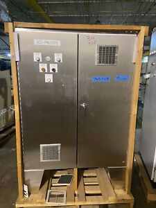 Hoffman Stainless Steel Electrical Enclosure Control Cabinet A604812sslp