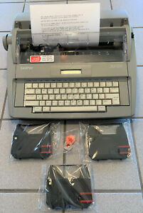 Brother Sx 4000 Lcd Daisy Wheel Electronic Typewriter W 3 New Ribbons Warranty