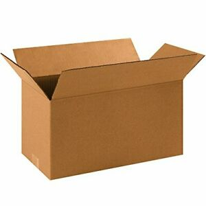Partners Brand P1688 Long Corrugated Boxes 16 l X 8 w X 8 h Kraft Pack Of 25
