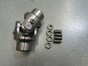 Flaming River Fr2516dd 3 4 Dd X 3 4 Dd Stainless Steel Steering U Joint