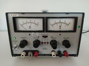 Kikusui Pwc 0620 Regulated Dc Power Supply Tested Working Made In Japan