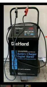 Diehard 275 Amp Wheeled Automatic Battery Charger Engine Starter