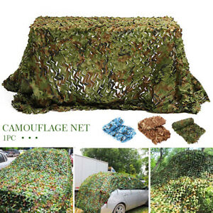 2x3m Outdoor Camping Car Covers Camouflage Net Bird Watching Double Layer