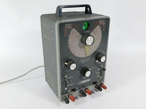 Heathkit It 11 Vintage Tube Capacitor Checker Tester looks Great Powers Up