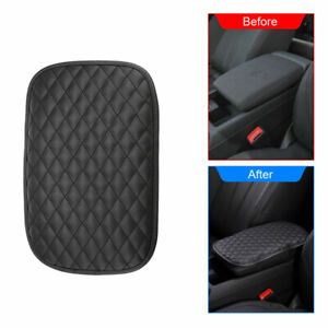 Pu Leather Car Armrest Cushion Cover Center Console Box Pad Protector Universal