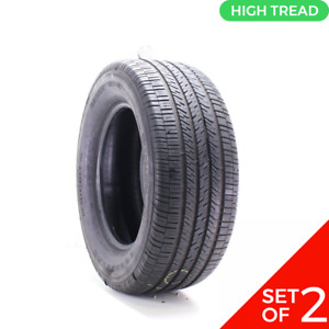 Set Of 2 Used 26560r17 Goodyear Eagle Rs A 108v 9 9532 Fits 26560r17