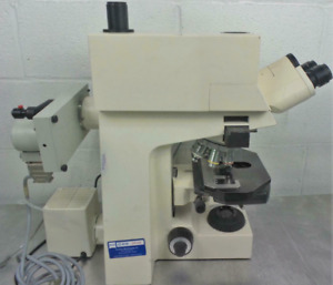 Zeiss Axioplan Fluorescent Universal Microscope And 5 Obectives And Accessories