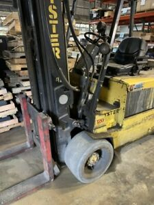 Hystser Electric Fork Lift Model E120xl Includes Charger