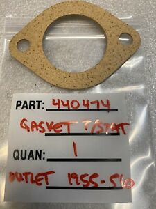 1955 1956 Packard Engine Water Manifold Outlet Gasket 440474