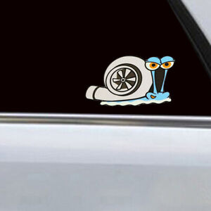 1 Piece Turbo Snail Funny Car Sticker Door Bumper Window Trunk Decal Accessories Fits 2013 Camry
