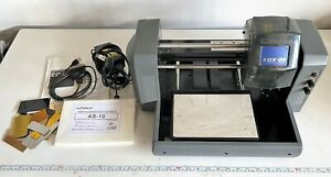 Roland Egx 20 Desktop Rotary Engraver With As 10 Sheets Engraving Plates