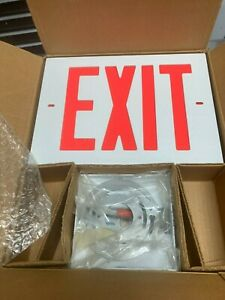Dual Lite 2 Sided Led Exit Light