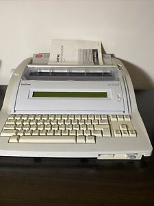 Brother Wp 700d Word Processor Electric Typewriter Lcd Screen W Manual Working