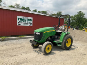 2010 John Deere 3120 4x4 Hydro 35hp Compact Tractor Super Clean Only 900hrs