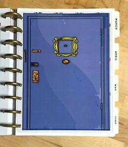 Friends Purple Door Inspired Two sided Dashboard For Use W Classic Happy Planner