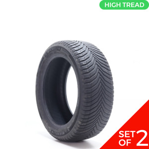 Set Of 2 Driven Once 225 50r17 Michelin Crossclimate 2 98v 10 32