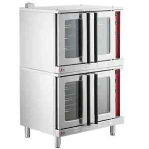 Cooking Performance Group Fec200dk Double Deck Full Size Convection Oven 240v