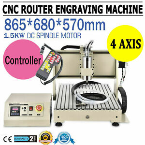 3axis 6040 Cnc Router 1 5kw Engraver Milliing Machine Pcb Drilling controller Rc