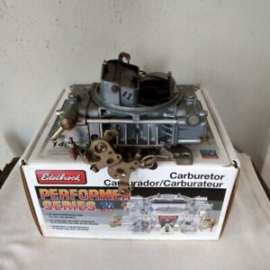 Holley Street Warrior 80457 2 3511 Carburetor 600cfm 4bbl Used Cond In Wrong Box