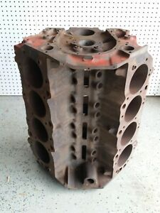 Chevy 427 Big Block Engine Block Steel Crank Many New Parts In Boxes