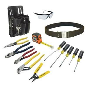 Klein Tools Electrician s Tool Set 14 piece Electrical Handyman Work Hand Tools