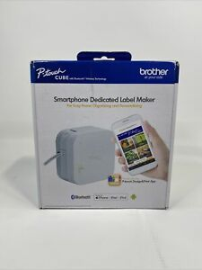 New Brother P touch Cube Smartphone Label Maker Bluetooth Wireless Technology