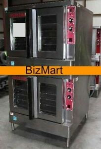 Used Blodgett Zephaire Bakery Depth Double Electric Convection Oven