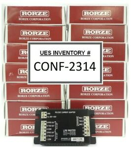 Rorze Automation Rc 002 Current Adapter Link Master Reseller Lot Of 15 New
