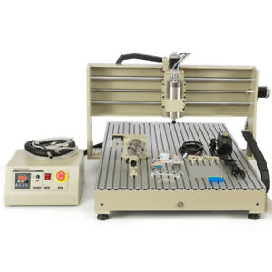 Usb Cnc 6090 Router 4 Axis Engraver Machine 1 5kw Metal Wood Milling Drill rc