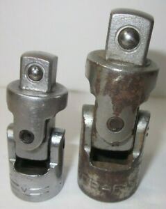 Craftsman V Series 2 Pc Universal Joint Swivel Extensions 1 2 3 8 Drive