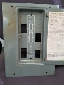 1306 12 125ni Fpe Federal Pacific Electric Panel Cover 100 125a Amp Split Buss