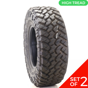 Set Of 2 Driven Once Lt 285 70r16 Nitto Trail Grappler M T 125 122p 20 32