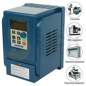 4kw Vfd 380v 12a 3 To 3 Phase 5hp Inverter Variable Frequency Drive