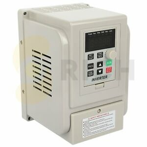 Variable Frequency Drive Inverter Single To 3 Phase 220 V 4kw