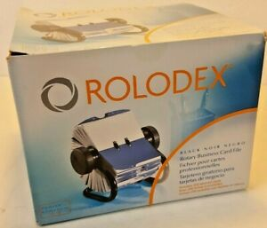 Rolodex Open Rotary Business Card File W 200 2 5 8 X 4 Card Sleeve 67236 New