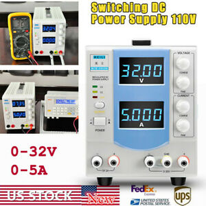 Adjustable Dc Power Supply Variable 0 32v 0 5a 160w Digital Lcd Display Power