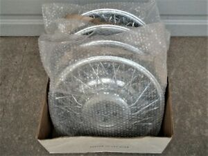 Oem 15 Wire Type Hub Caps Wheel Covers 1981 85 Cadillac