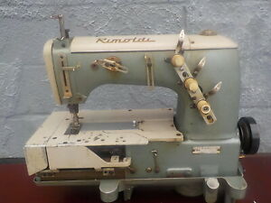 Industrial Sewing Machine Rimoldi 163 Cover Stitch two Needle Cover